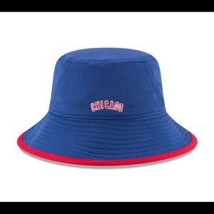9b4c140eb7c New Era Accessories - Chicago Cubs Royal Team Bucket Hat by New Era